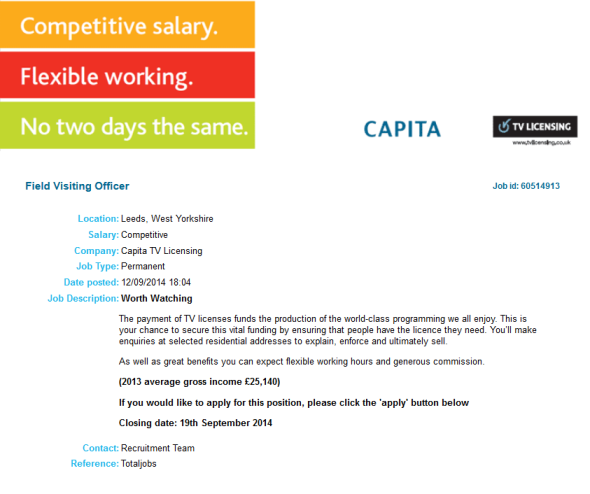 capita-tv-licensing-job-ad-sept-2014